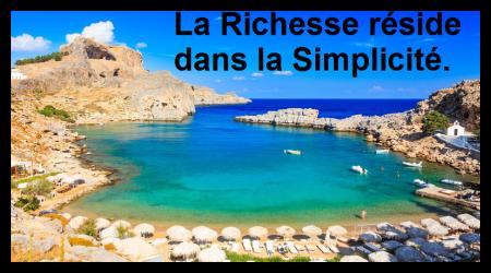 richesse et simplicite